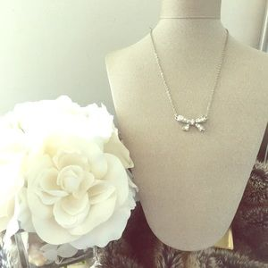 Jewelry - Crystal Bow Necklace